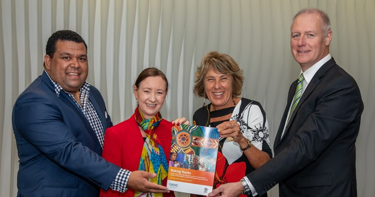 Making tracks towards Queensland Aboriginal and Torres Strait Islander health equity feature image